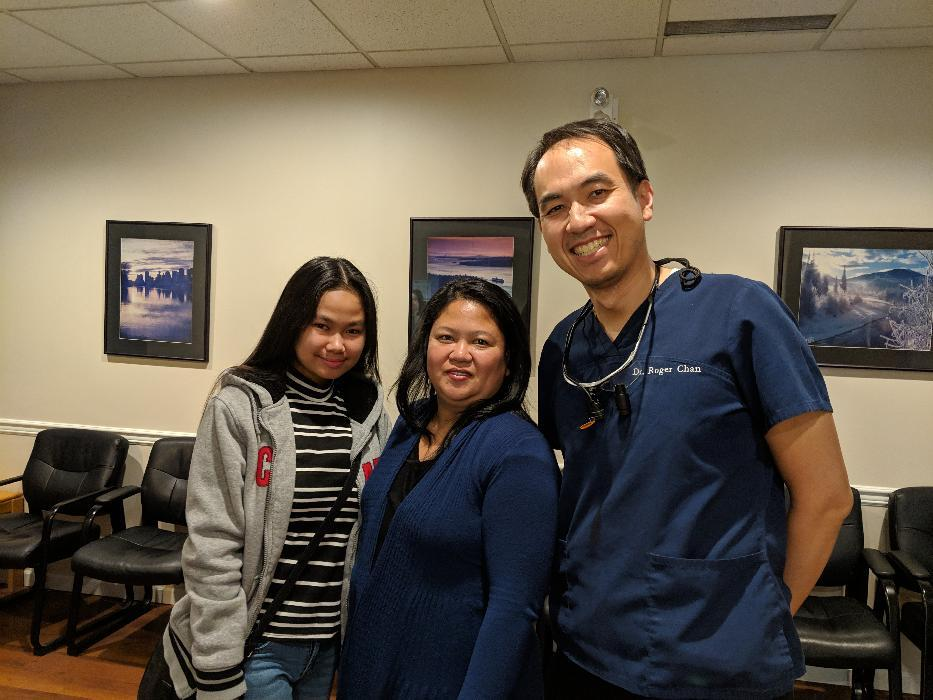 Dr. Chan and Patients | Central Park Dental Clinic