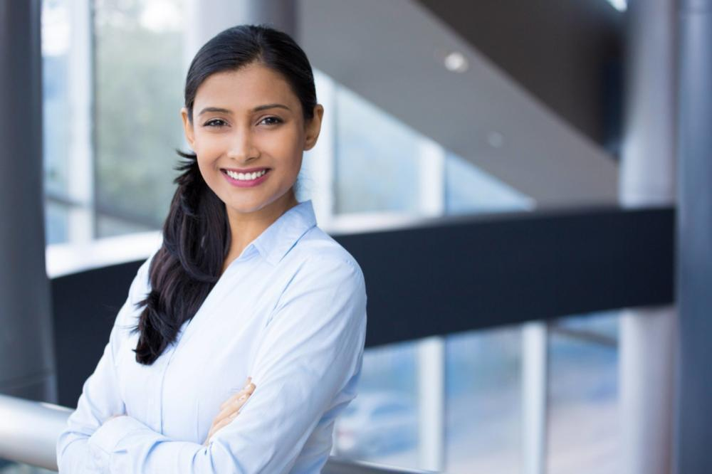 Woman smiling | Dentist Burnaby BC