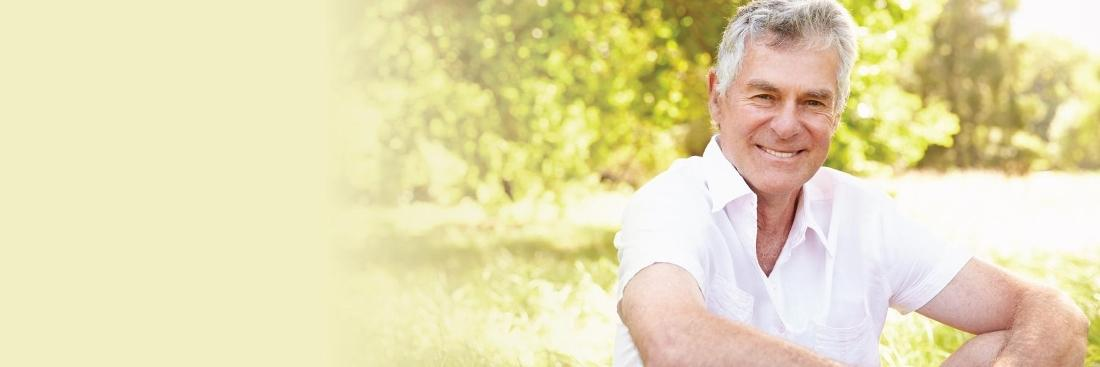 Older man smiling | Dentist Burnaby BC